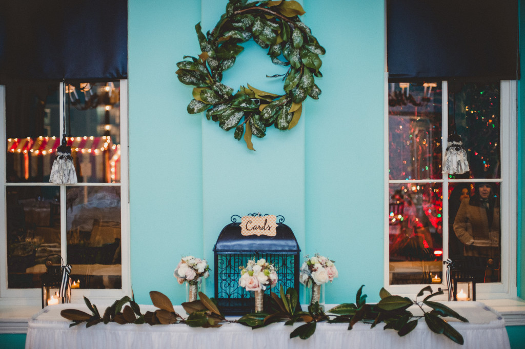 Cape May Wedding Florist - A Garden Party florist - Pat Robinson Photography - anemones - blush flowers - winter wedding - Congress Hall wedding