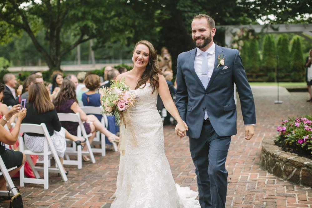 A Garden Party florist - South Jersey Wedding Florist - Historic Smithville Inn - Saltwater Studios - pink dahlias - lisianthus - blush wedding - garden wedding