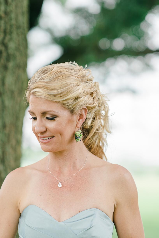 Flower Earrings, Floral Jewelry, Floral Earrings, NJ Wedding, Philadelphia Wedding, Rachel Pearlman Photography