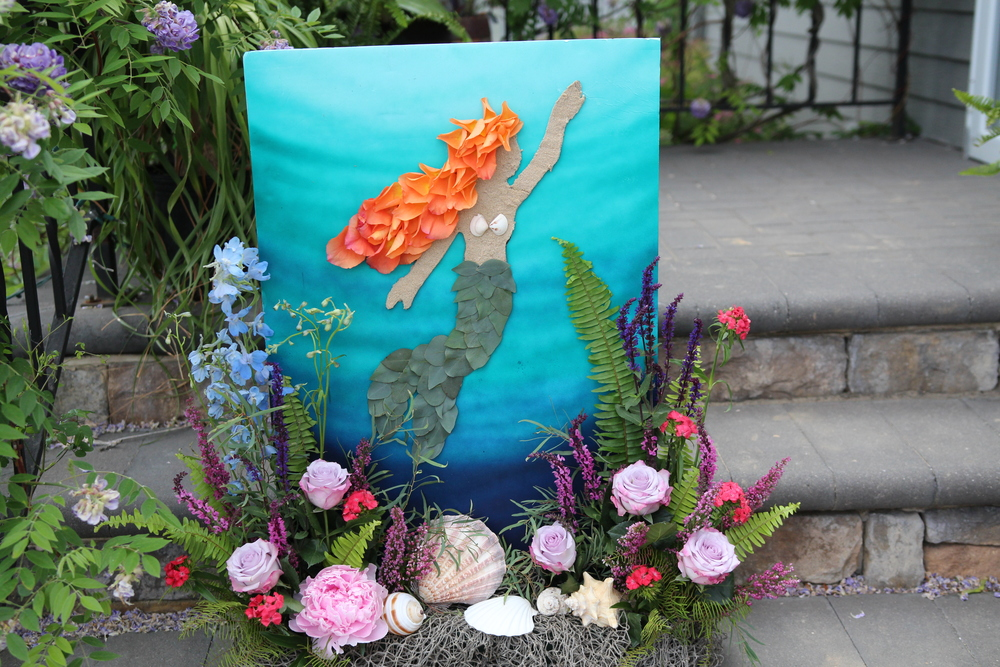 A Garden Party Florist, Sympathy Work, Mermaid