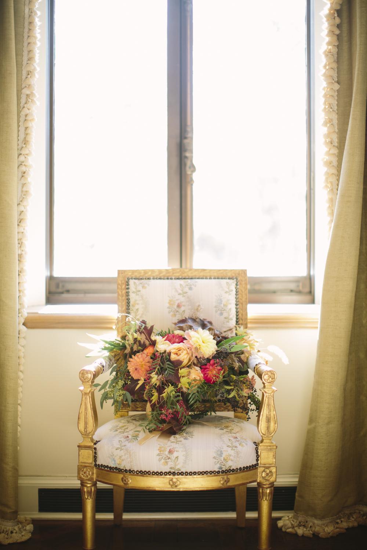 A Garden Party Florist, Fall Wedding, Orange