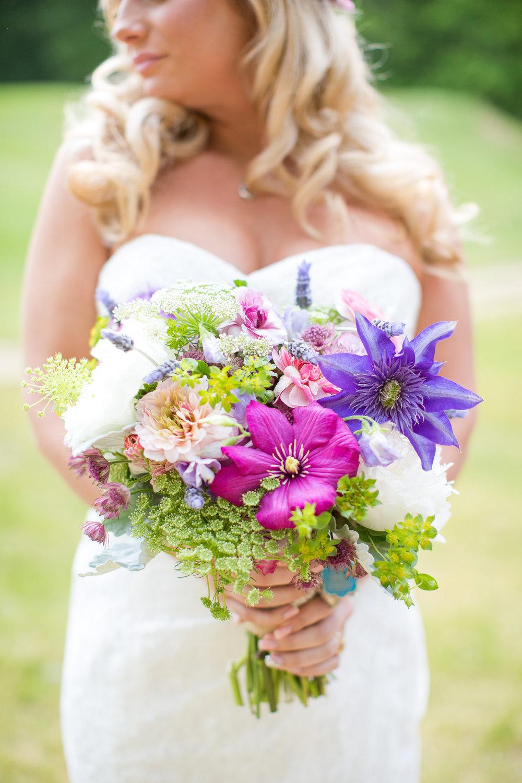 A Garden Party Florist, Purple, Pink, Fuschia