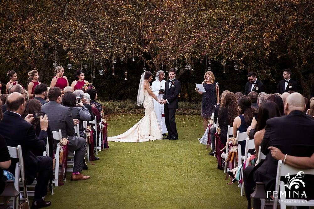A Garden Party Florist, Brantwyn Estate, Wilmington, Fall Wedding, Femina Photo & Design, Purple, Peach
