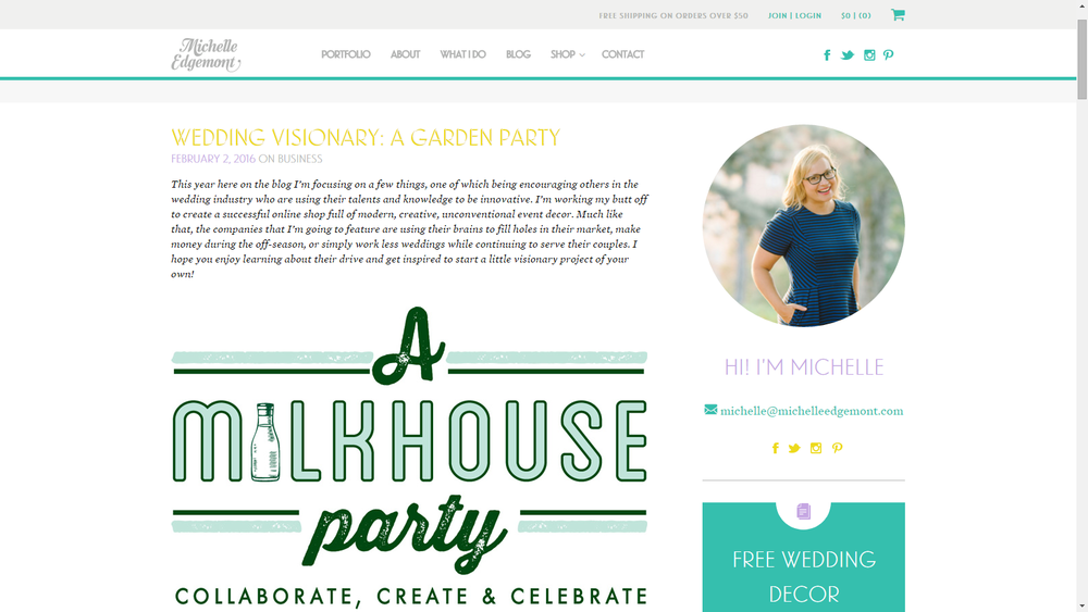 A Garden Party Florist, A Milkhouse Party, Tami & Ryan Photography, Michelle Edgemont