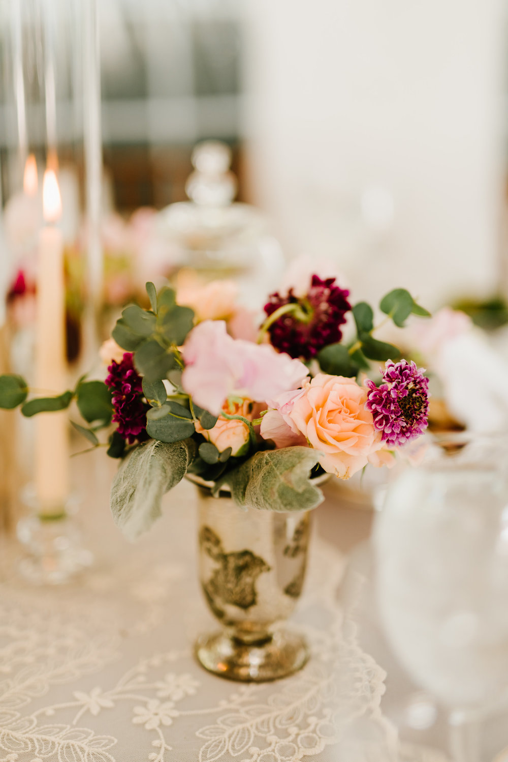 Chesterfield wedding florist emily jeremy at the inn at having this type of reception allows for so many versatility in decor which is part of what makes the inn at fernbrook so special mightylinksfo