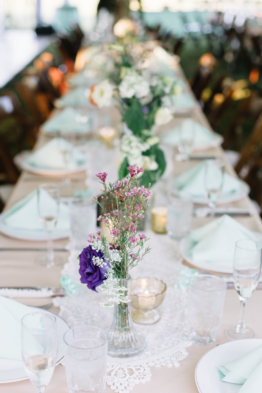 DIY Wedding Flowers : Lindsay & John at a Private Residence — A ...