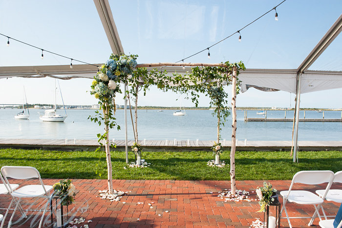 Beach Wedding, Aisle Decor, Ceremony Arch, NJ Wedding
