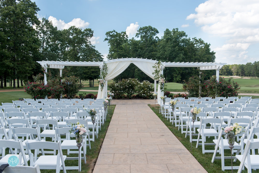 Running Deer Wedding, Aisle Decor, Ceremony Arch, NJ Bride, A Garden Party