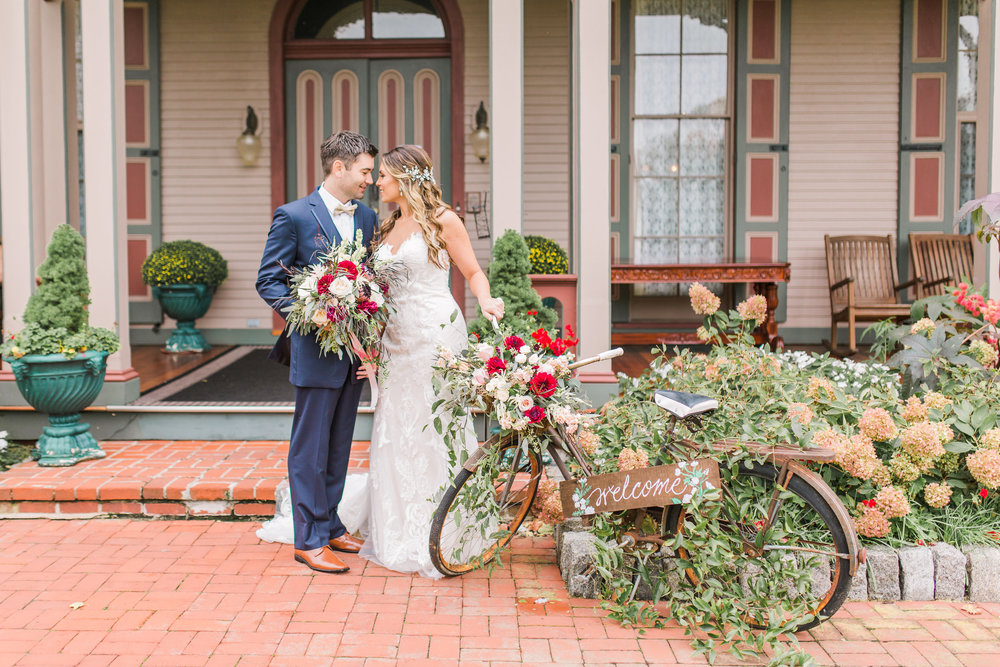 Cape May Wedding, Southern Mansion, Fall Wedding, Ashley Errington Photography