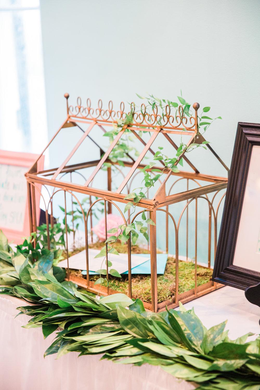NJ Florist, NJ Wedding, Bride, Card Box, Wedding Decor, A Garden Party