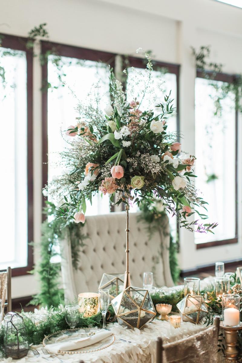 NJ Wedding, Running Deer Golf Club, Pink Flowers, Blush Wedding, Florist, A Garden Party, Compote, Centerpiece, Samantha Jay Photography