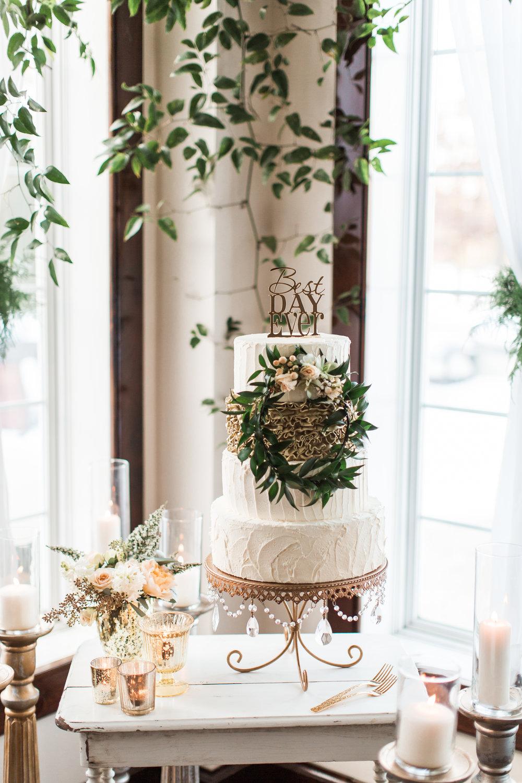 NJ Wedding, Wedding Cake, Running Deer Golf Club, Greenery Wedding, Cake Inspo, Samantha Jay Photography, A Garden Party