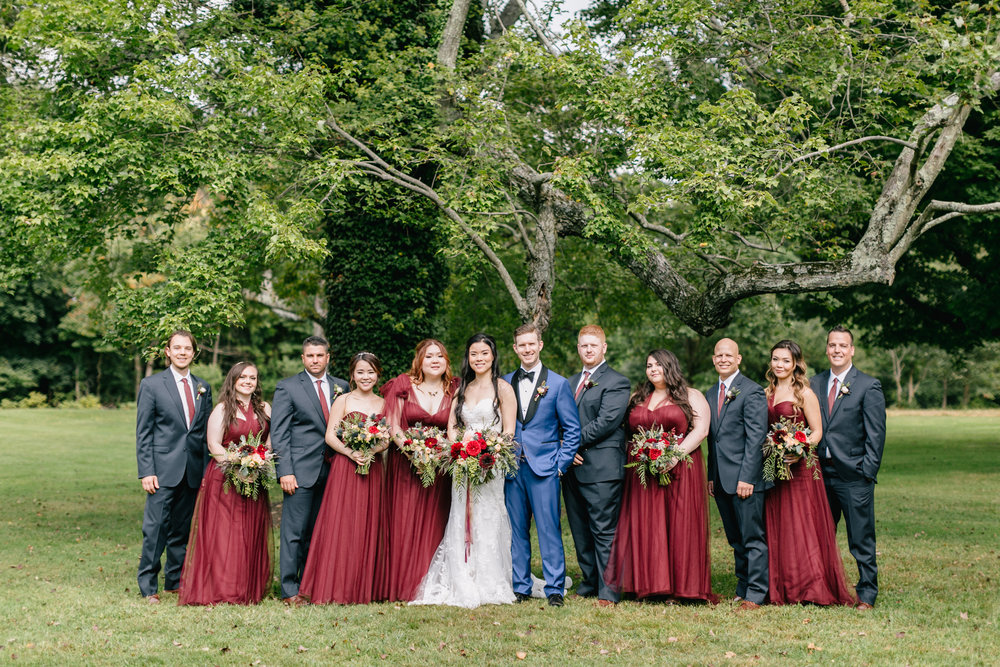 Sonia and Sam bridal party