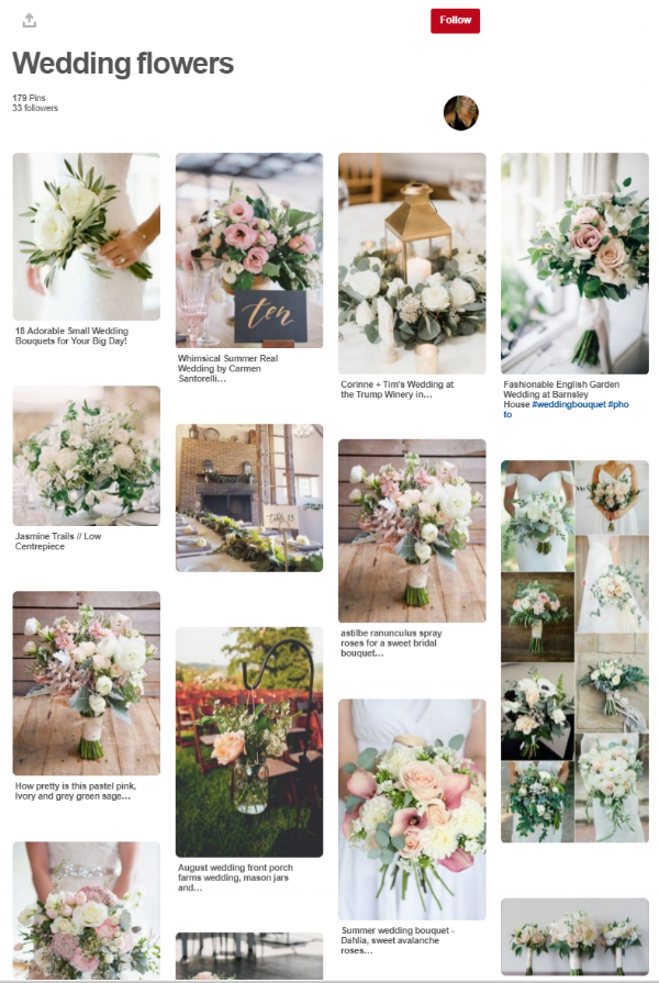 pinterest - wedding planning