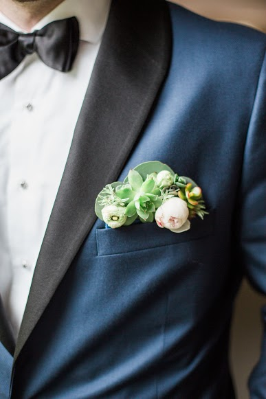 Groom Pocket Boutonniere, Succulent Bout, Jessica Cooper Photography
