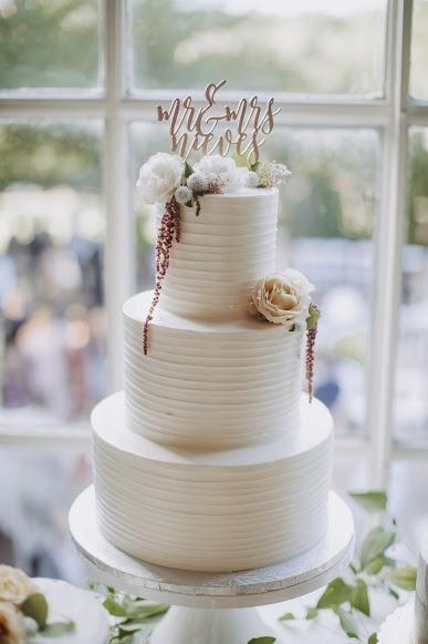 NJ Wedding, Cake Inspo, Wedding Cake, Cake Flowers, Greenery, A Garden Party