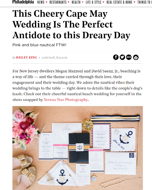 philly mag - wedding - published