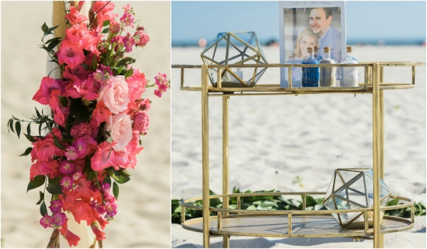 beach wedding - ceremony