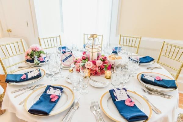 nautical wedding - centerpiece