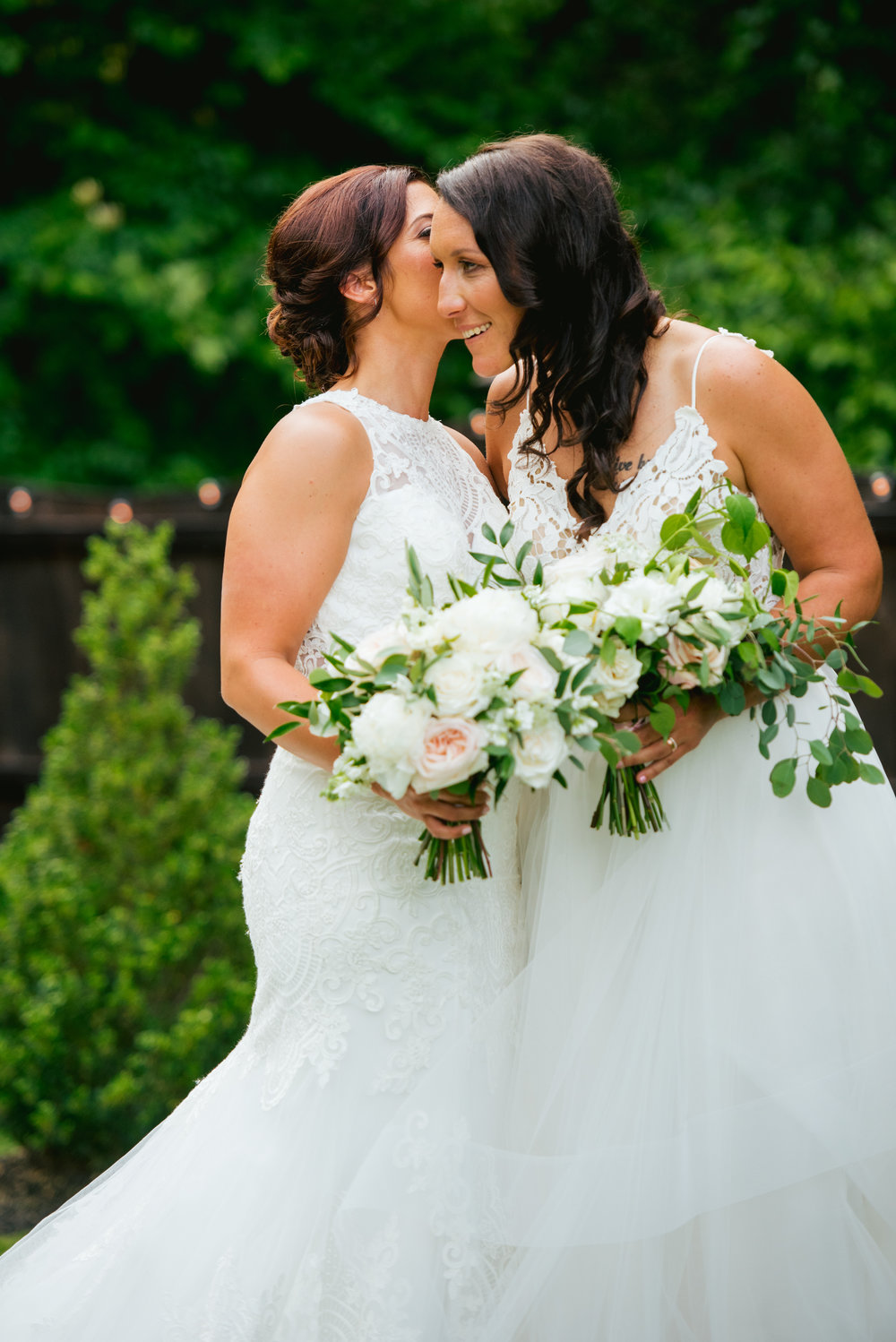 NJ Wedding, Bride Bouquet, White and Green, Jessica Hendrix Photography