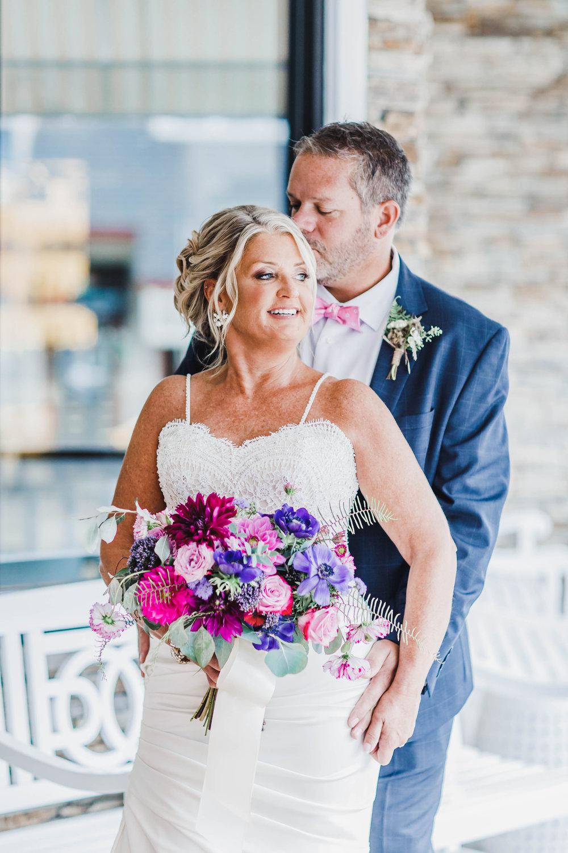 The Reeds Avalon NJ, Beach Wedding, Bridal Bouquet, Bride, Flowers, Kaitlin Noel Photography