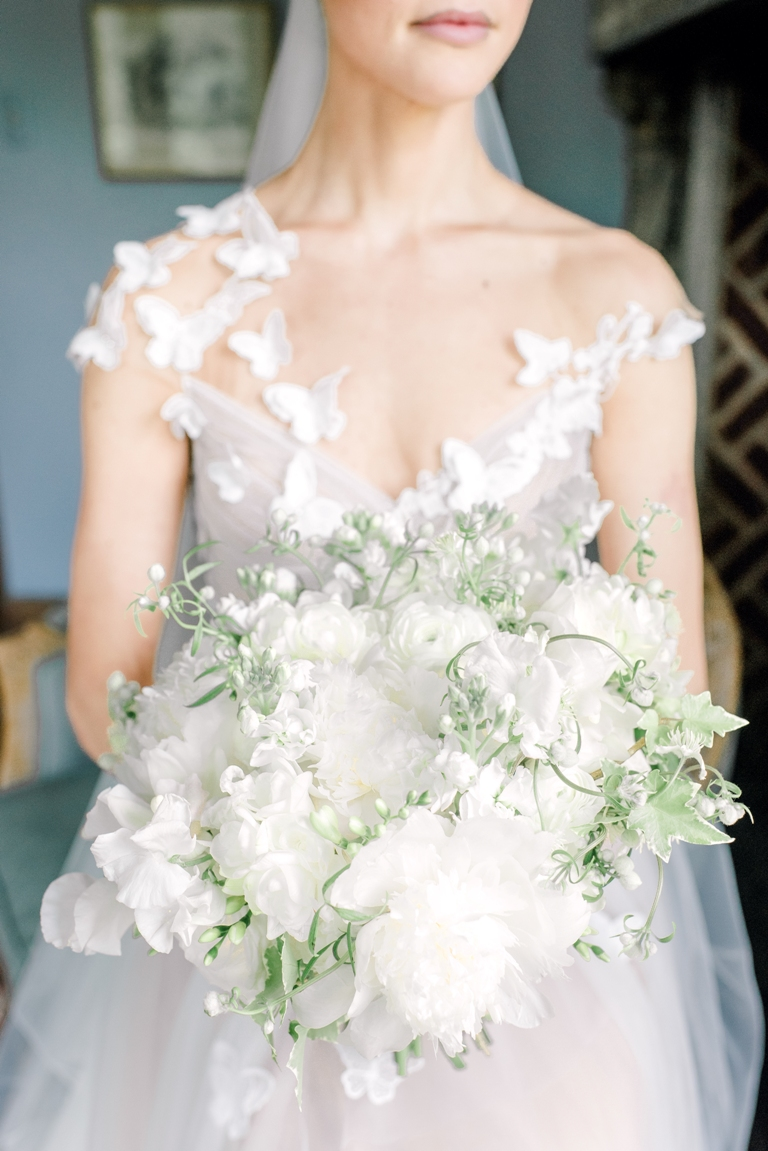 Spring Wedding with butterflies at Aldie Mansion, Rachel Pearlman Photography
