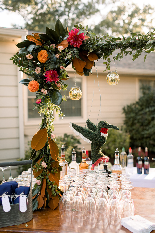 A Garden Party, NJ Wedding, NJ Florist, Hummingbird, Specialty Flowers, Cocktail Bar, Wedding Decor, Samantha Jay Photography