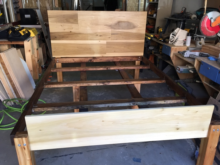 Queen Bed Frame (traditional) — cathartic reindeer