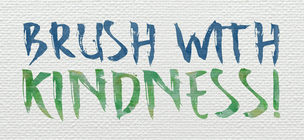 Brush With Kindness!  Habitat for Humanity.  Saturday, October 17, 2015
