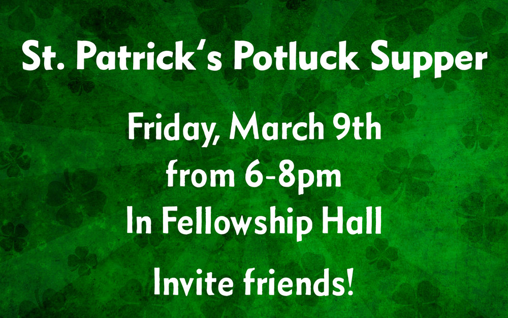St. Patrick's Day Potluck 1.jpg