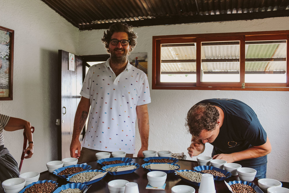 Selva Negra have an entire building devoted to roasting and QC