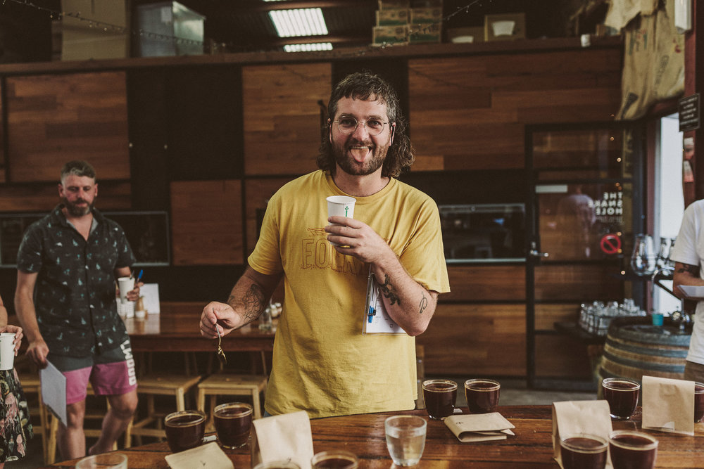 Sam Keck - Sam aka 'the Badger' is co-owner and founder of Commonfolk. With over a decade of experience as a barista and roaster he heads up Commonfolk's wholesale business.When he's not searching for new ways to grow the wholesale family you'll find him harassing local craft breweries to make collaborative coffee beers.