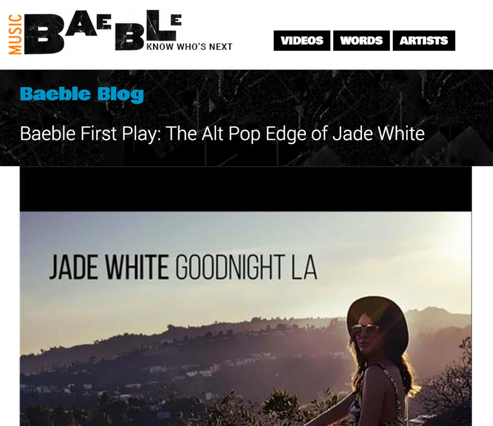 "Baeble Music Premieres ""Goodnight LA"" Single"