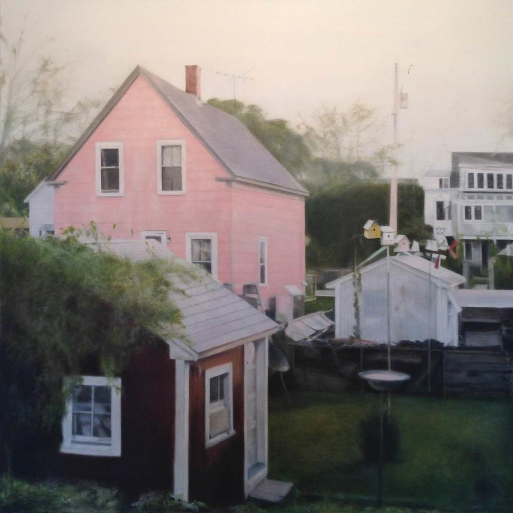 Deborah Martin PINK, 2013 Oil on canvas 36 x 36""