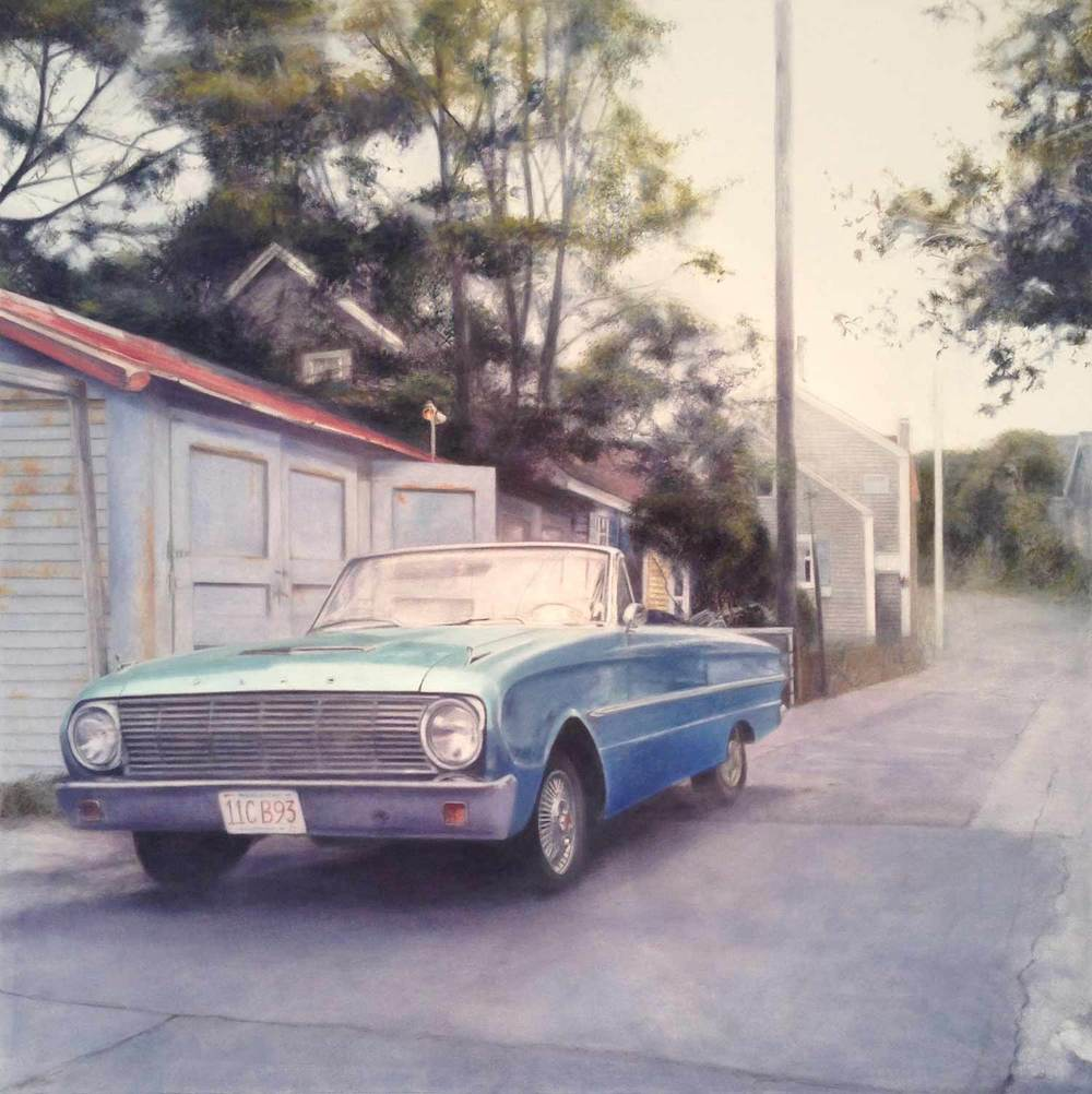 Falcon, 2014 Provincetown, MA Oil on canvas 36 x 36 inches