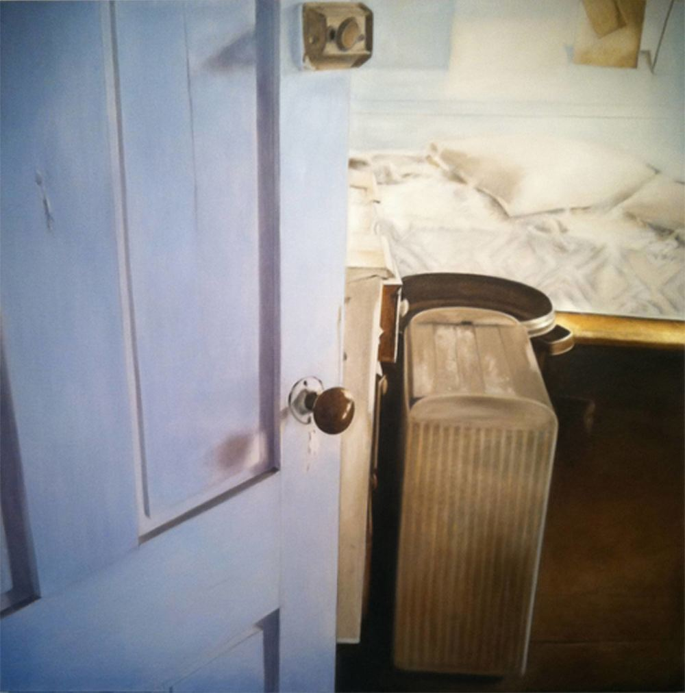 Hamper, 2011 Provincetown, MA Oil on canvas 36 x 36 inches