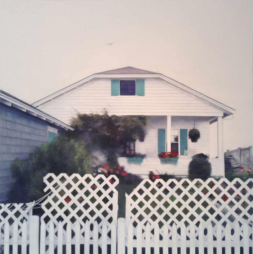 466, 2014 Truro, MA Oil on canvas 36 x 36 inches