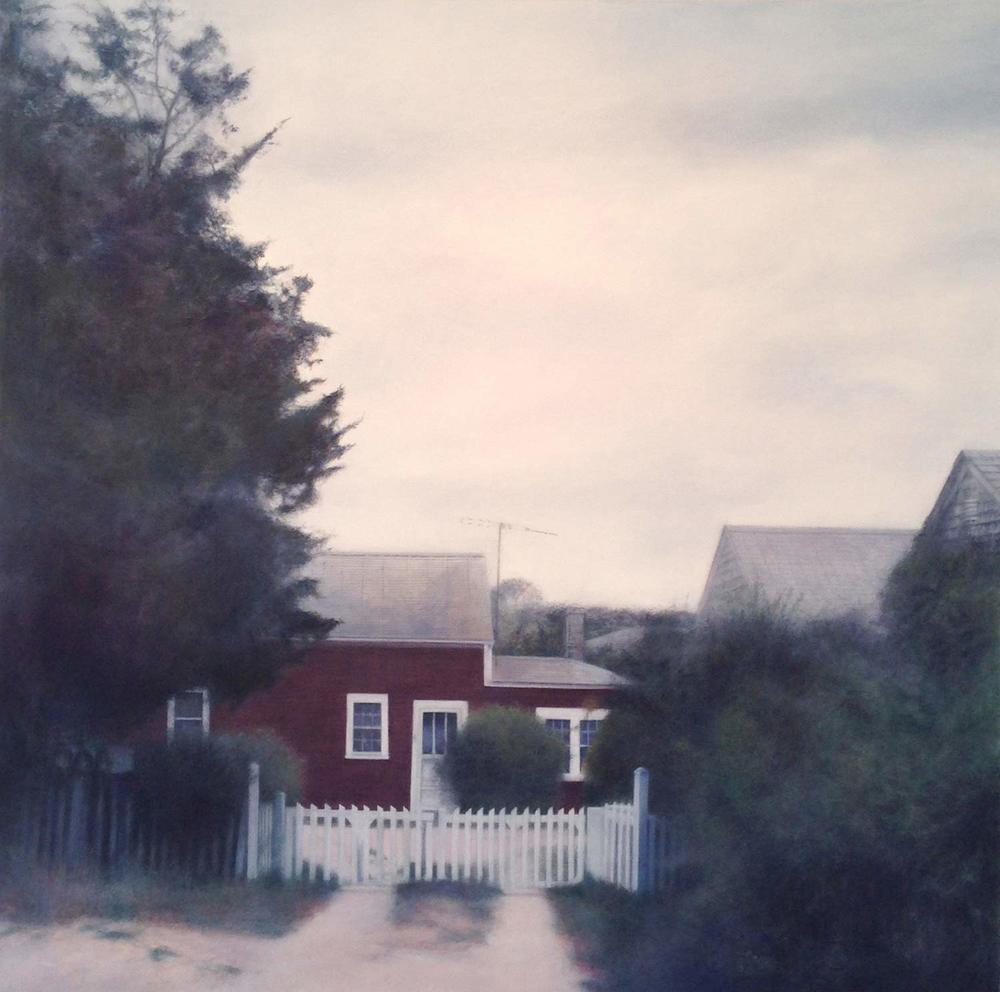 Faith, 2014 Provincetown, MA Oil on canvas 36 x 36 inches