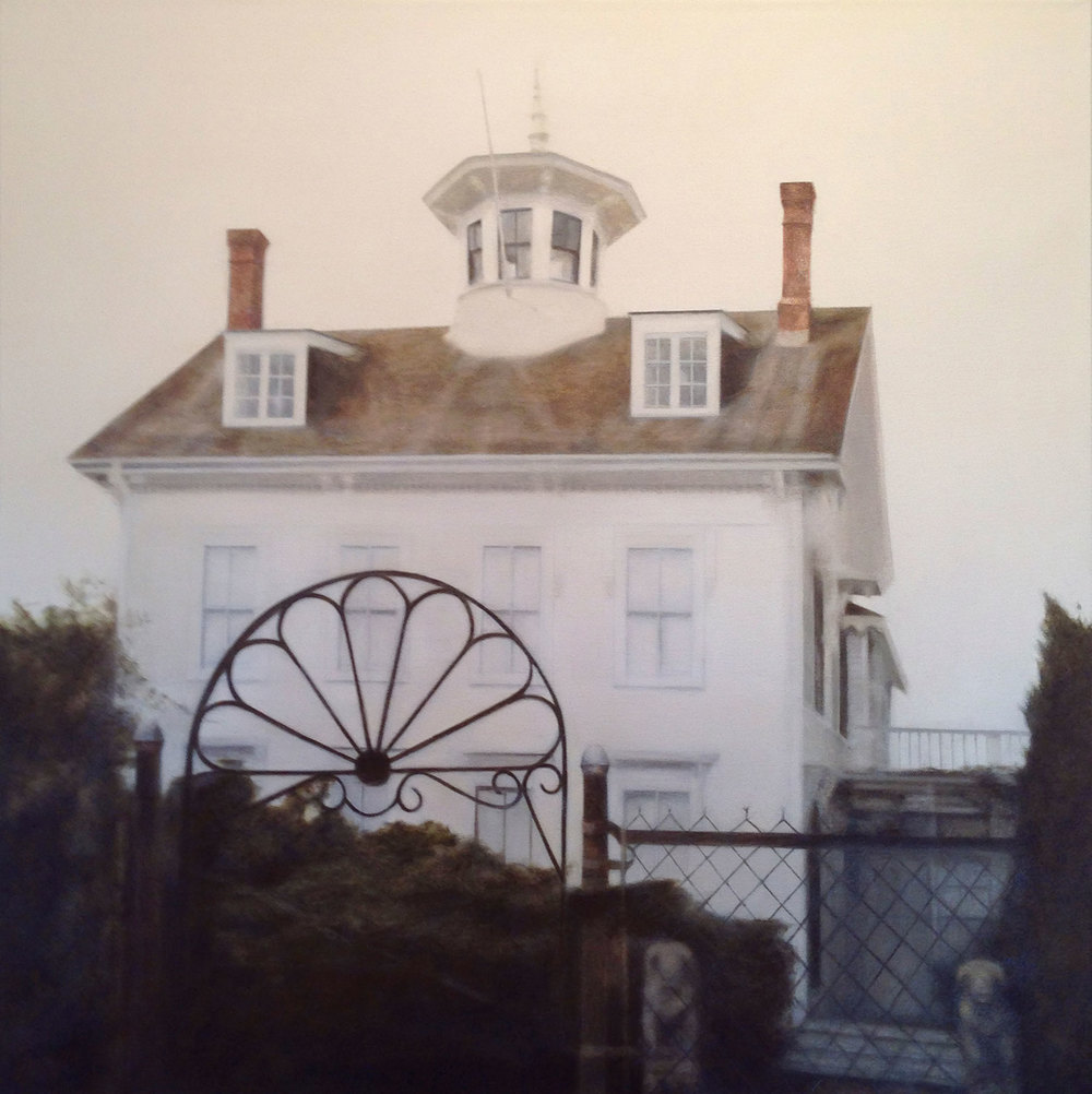 Cabral, 2013 Provincetown, MA Oil on canvas 30 x 30 inches