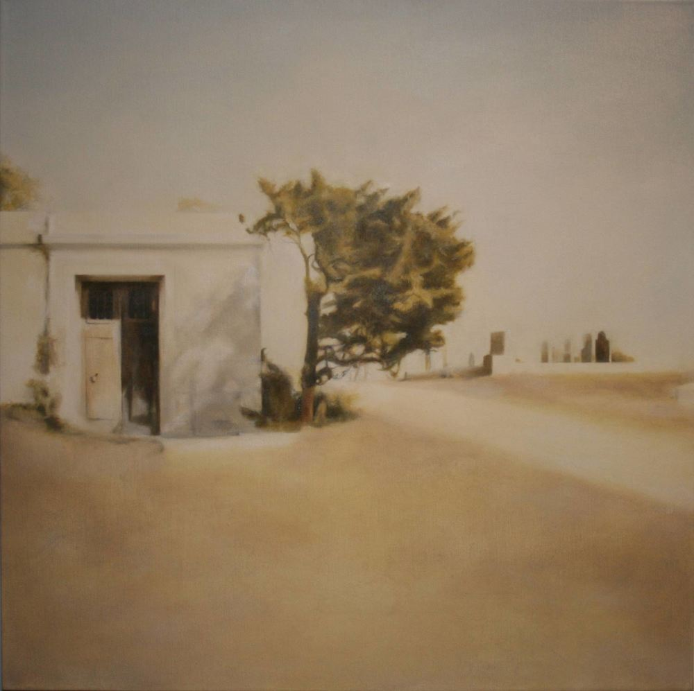 Grave, 2011 Provincetown, MA Oil on canvas 24 x 24 inches