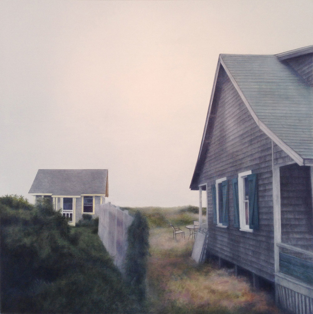 574, 2014 North Truro, MA Oil on canvas 36 x 36 inches