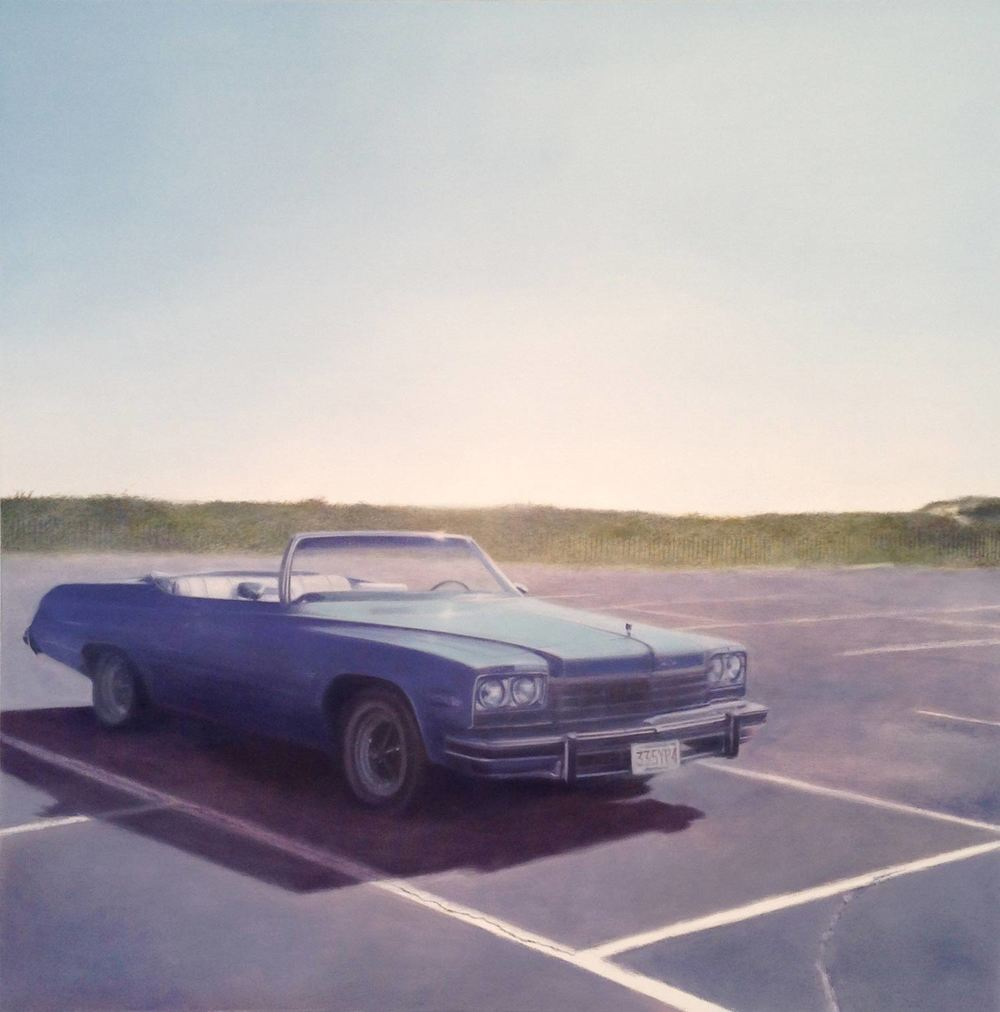 Lesabre, 2014 Herring Cove Provincetown, MA Oil on canvas 36 x 36 inches