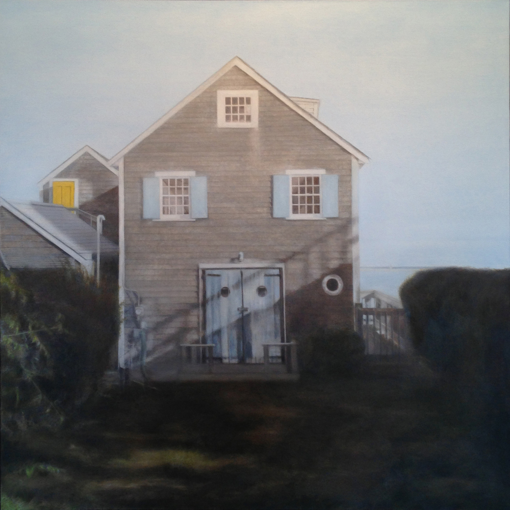 Blue Shutters, 2013 Provincetown, MA Oil on canvas 36 x 36 inches