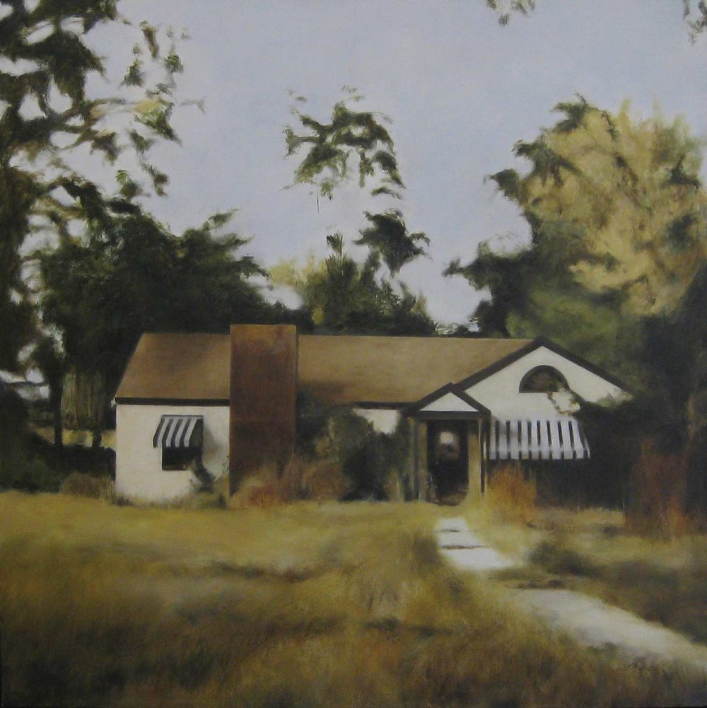 Lanoke, 2009 Lanoke, Arkansas Oil on canvas 30 x 30 inches