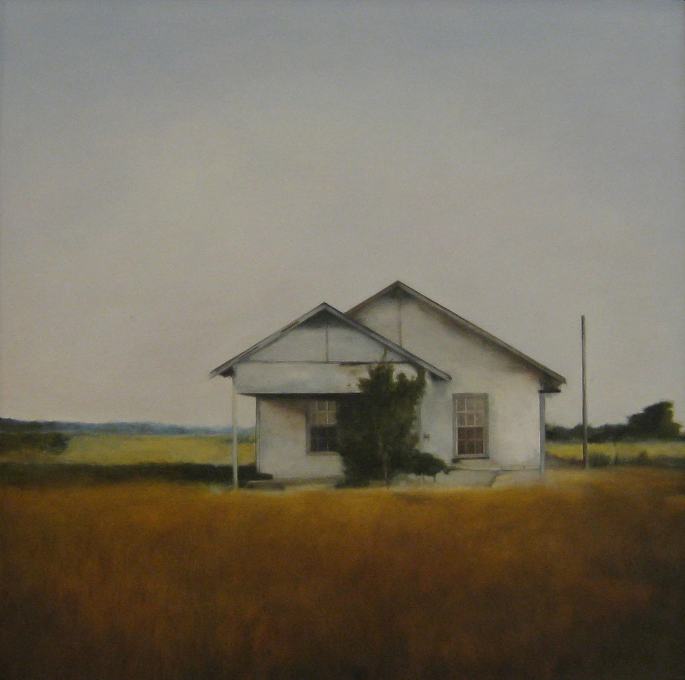 Hazen Field, 2009 Hazen, Arkansas Oil on Canvas 36 x 36 inches