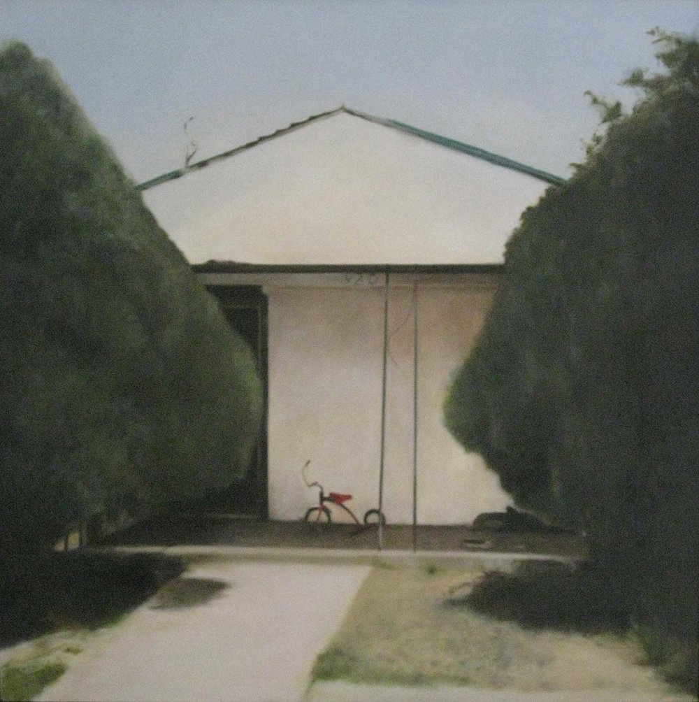 Slaton Tike, 2009 Slaton, Texas Oil on canvas 36 x 36 inches