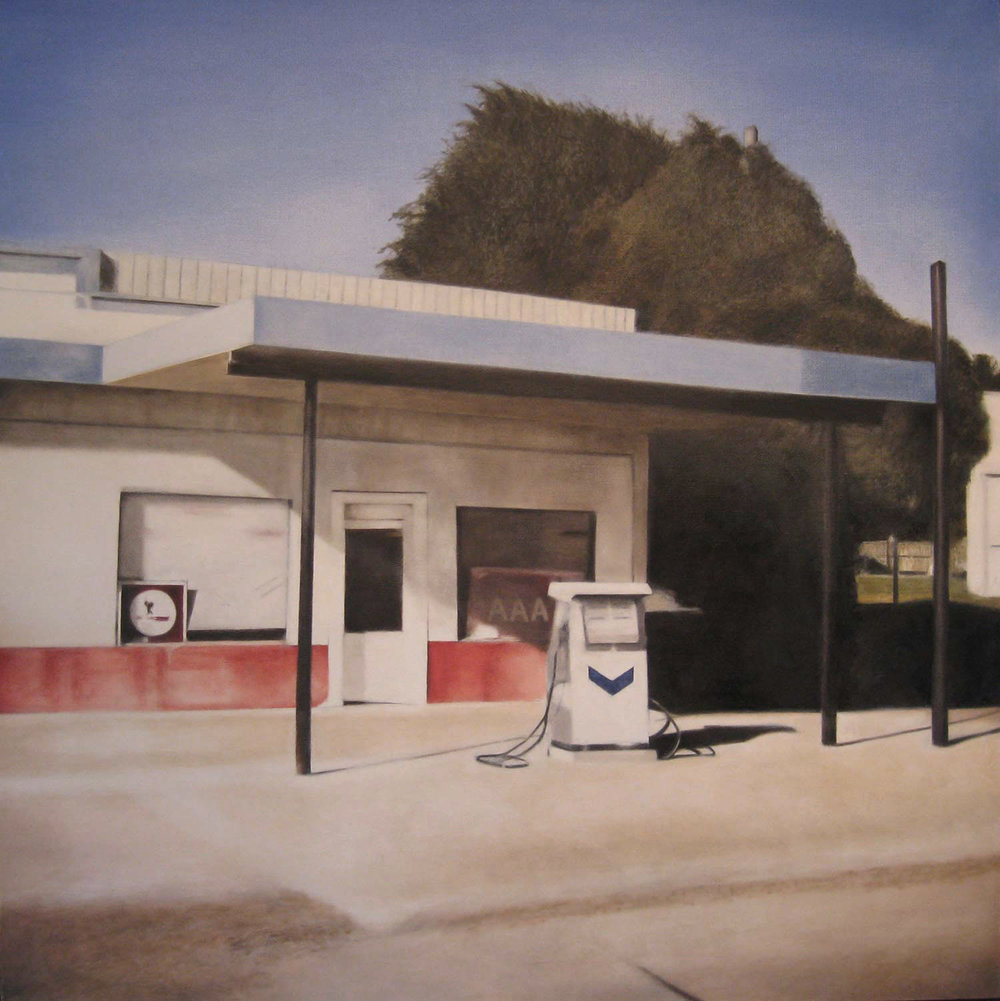 Groom, 2011 Groom, Texas Oil on canvas 36 x 36 inches