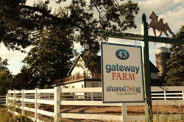 The Gateway Farm Shared Living Collaborative in Massachusetts offers an alternative to institutions. (Megan Hill)