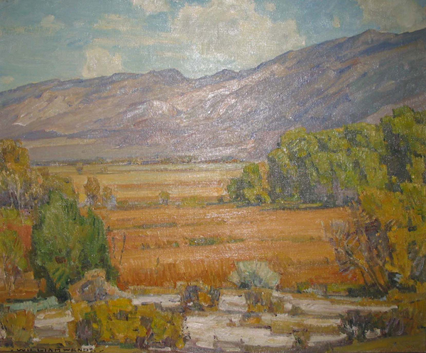 Owens River Valley, 1929 by William Wendt