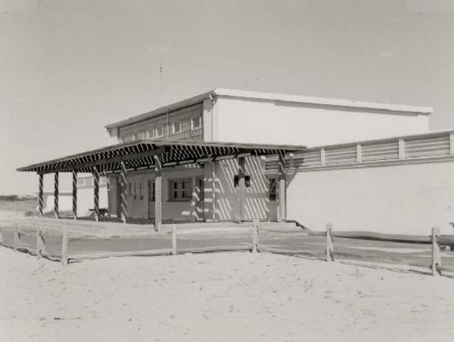 The Bath House, Herring Cove Beach Provincetown, 1973 Cape Cod National Seashore Archives